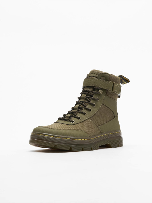 Dr. Martens Chaussures montantes Combs Tech Tract olive