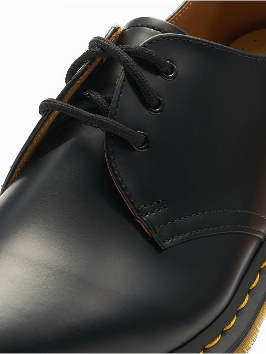 Dr. Martens Lave Sko 1461 DMC 3-Eye Smooth Leather svart