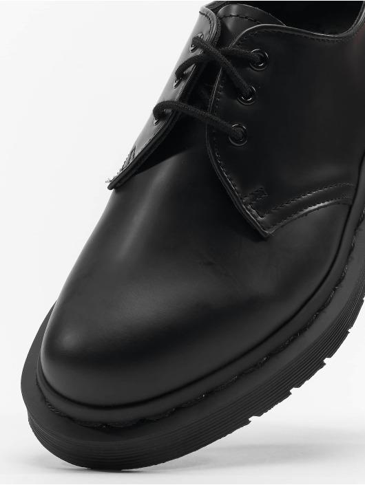 Dr. Martens Lave Sko 1461 Mono 3-Eye Smooth Leather Low svart