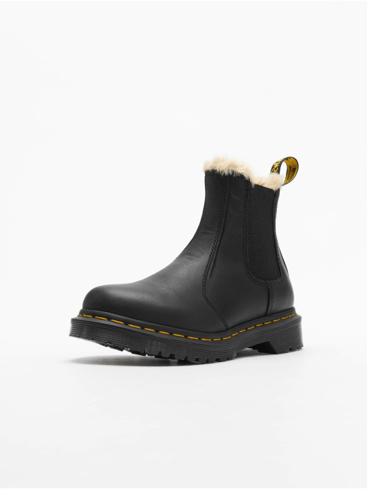 Dr. Martens Støvler Leonore Wyoming Burnished svart