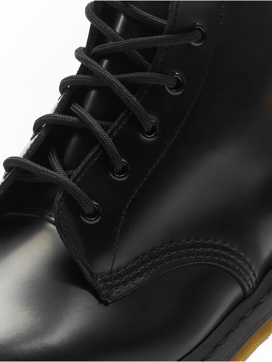 Dr. Martens Vapaa-ajan kengät 101 PW 6-Eye Smooth Leather Police musta ... 4a1138263f