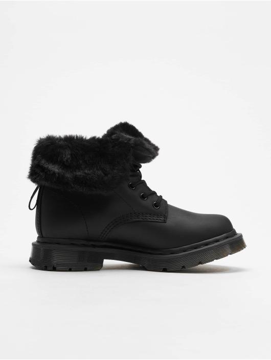 Dr. Martens Vapaa-ajan kengät Kolbert Waxy Suede WP 8-Eye Snowplow musta