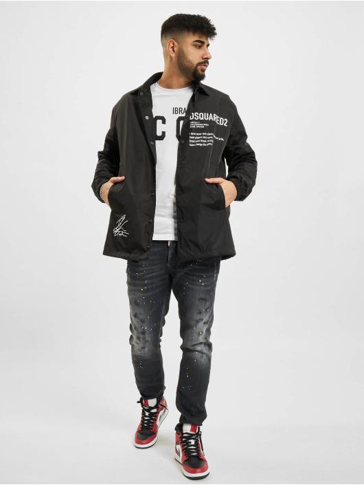 Dsquared2 Демисезонная куртка Icon черный