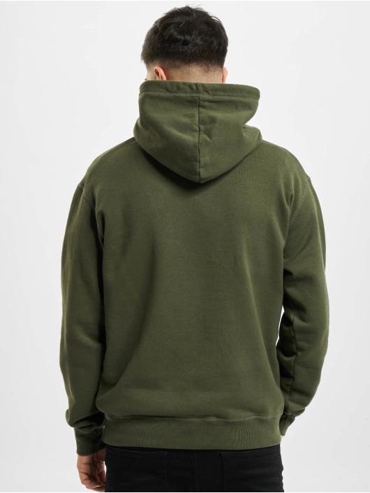 Dsquared2 Bluzy z kapturem Icon Hooded zielony