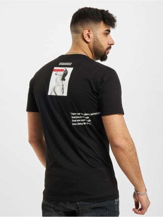 Dsquared2 Camiseta Icon Ibra negro