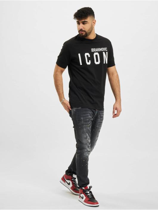Dsquared2 Camiseta Icon negro