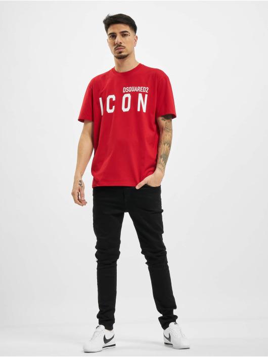 Dsquared2 Camiseta Icon rojo