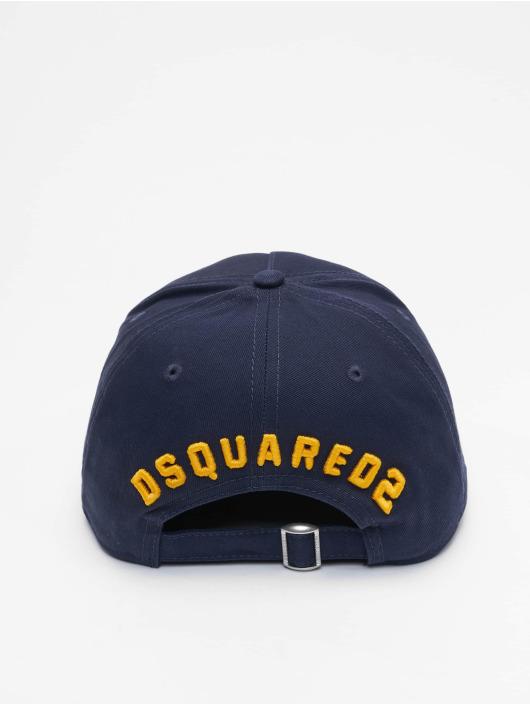 Dsquared2 Casquette Snapback & Strapback Icon bleu
