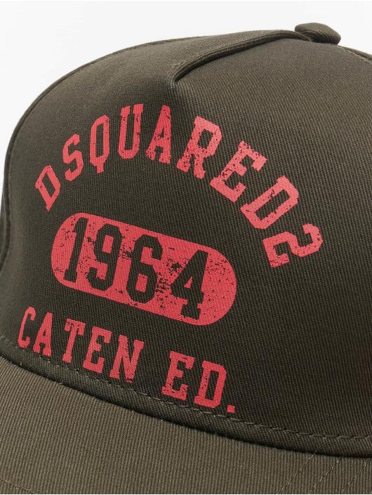 Dsquared2 Casquette Snapback & Strapback Caten Ed. kaki