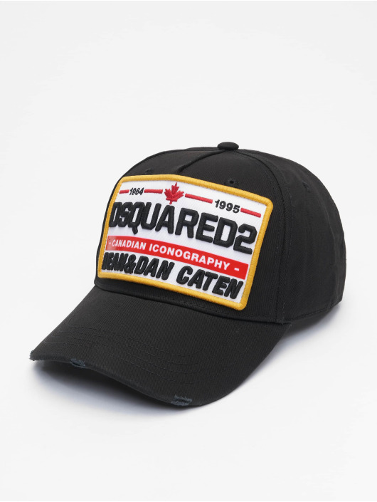 Dsquared2 Casquette Snapback & Strapback Canadian Iconography noir