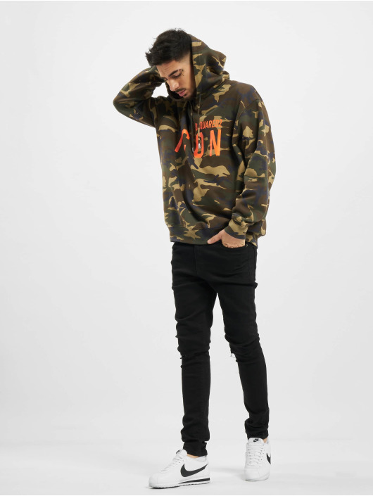 Dsquared2 Hoodie Camouflage Icon Hooded kamouflage