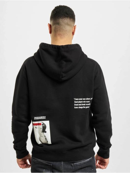 Dsquared2 Hoody Icon schwarz