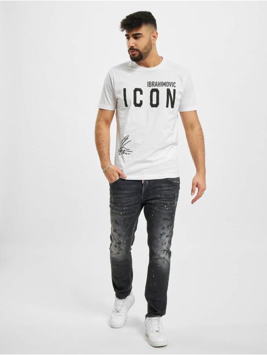 Dsquared2 Slim Fit Jeans Icon Skater черный