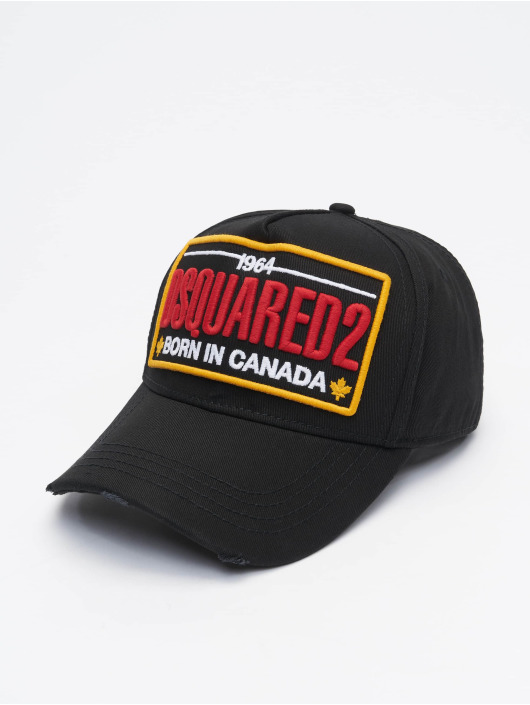 Dsquared2 Snapback Cap Born In Canada black