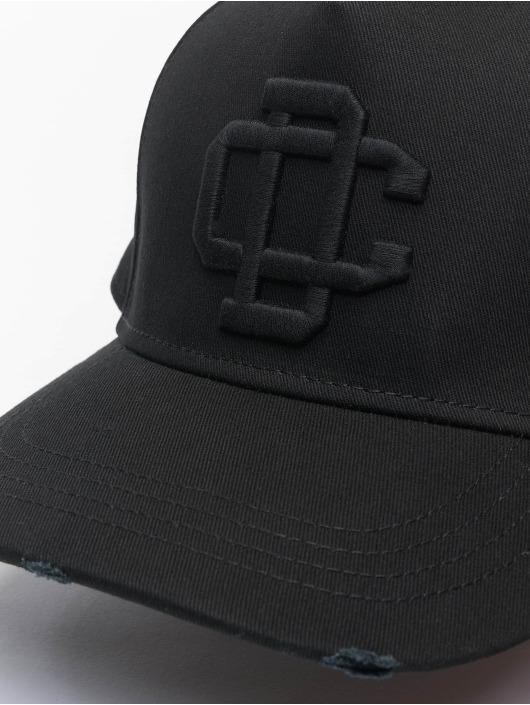 Dsquared2 Snapback Cap DC Crest Baseball nero