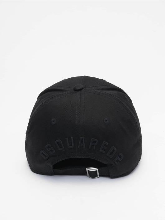 Dsquared2 Snapback Cap Icon nero