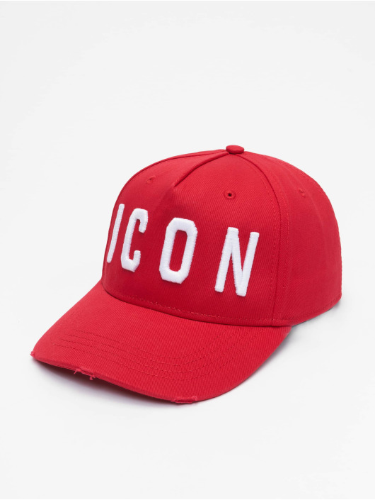 Dsquared2 snapback cap Icon rood