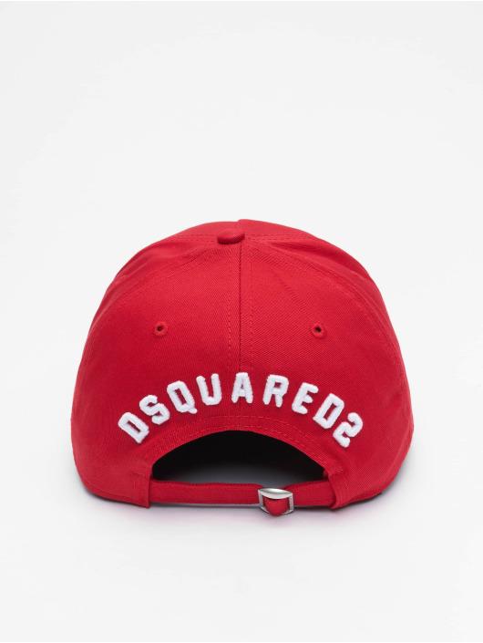 Dsquared2 Snapback Cap Icon rosso