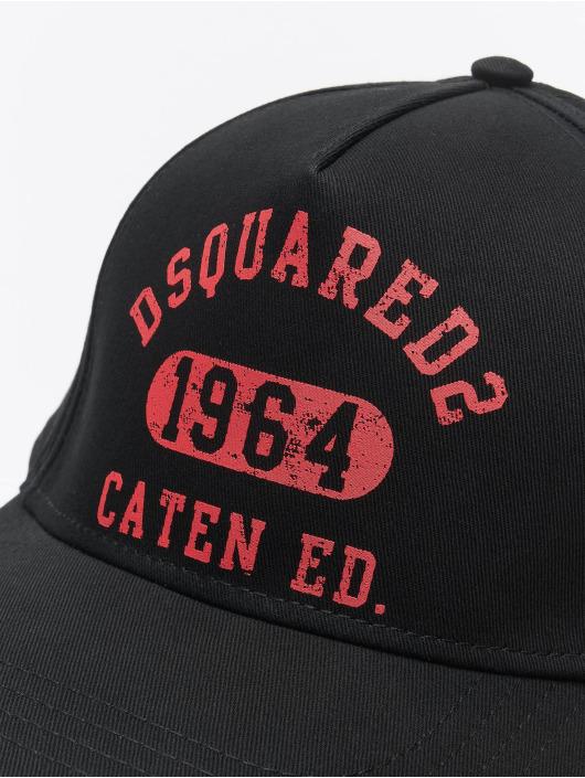 Dsquared2 snapback cap Caten Ed. zwart