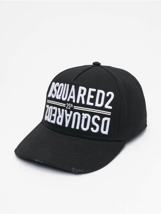 Dsquared2 snapback cap 25th Dsquared2 Baseball zwart