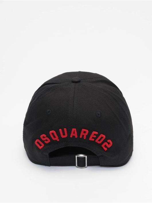 Dsquared2 snapback cap Icon zwart