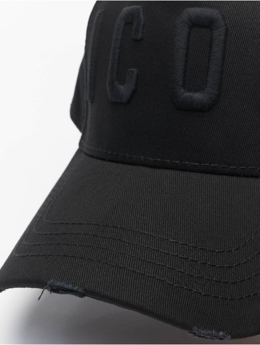 Dsquared2 Snapback Caps Icon czarny