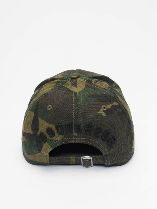 Dsquared2 Snapback Caps Icon kamufláž
