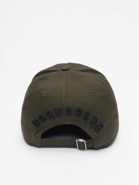 Dsquared2 Snapback Caps Icon khakiruskea