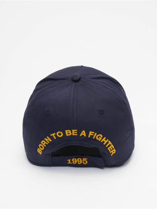 Dsquared2 Snapback Caps Born In Canada modrý