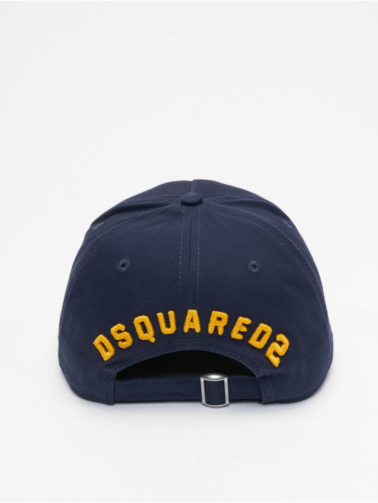 Dsquared2 Snapback Caps Icon modrý