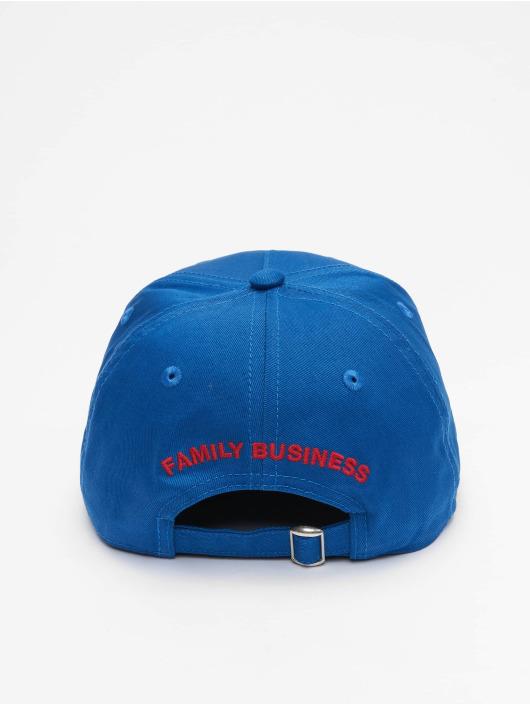 Dsquared2 Snapback Caps Canadian Iconography niebieski