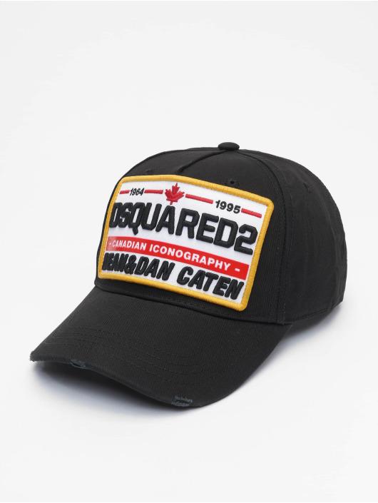 Dsquared2 Snapback Caps Canadian Iconography svart