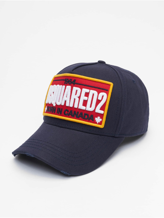 Dsquared2 Snapbackkeps Born In Canada blå