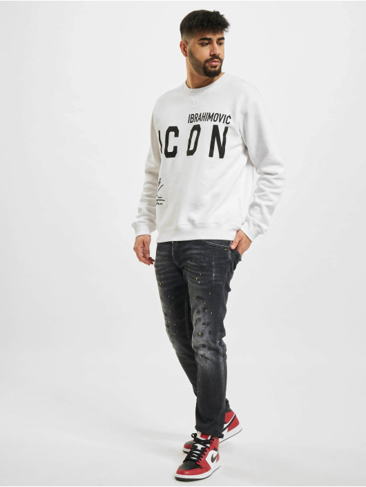Dsquared2 Swetry Icon bialy