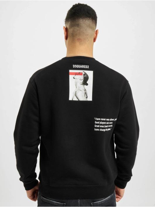 Dsquared2 Swetry Icon czarny