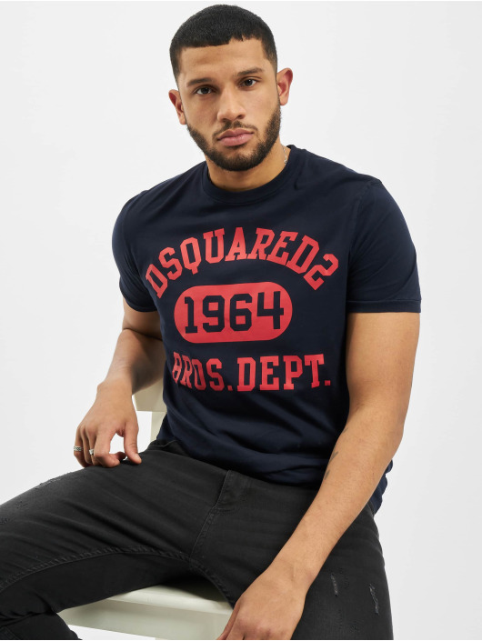 Dsquared2 T-shirt 1964 blå