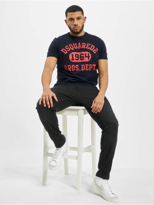 Dsquared2 T-Shirt 1964 bleu
