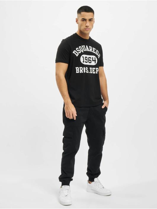 Dsquared2 T-Shirt 1964 noir