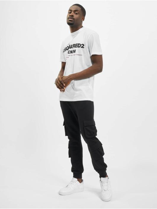 Dsquared2 T-shirt Denim vit