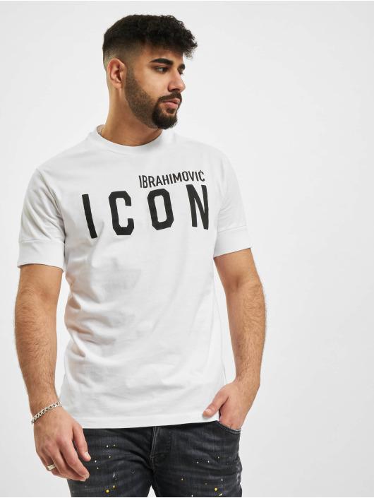 Dsquared2 T-shirt Icon vit