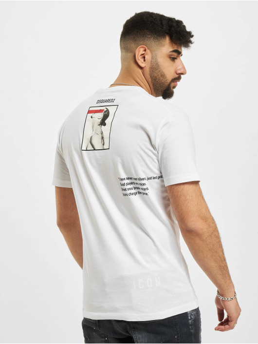 Dsquared2 T-Shirt Icon Ibra white