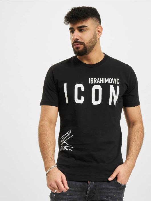 Dsquared2 t-shirt Icon Ibra zwart