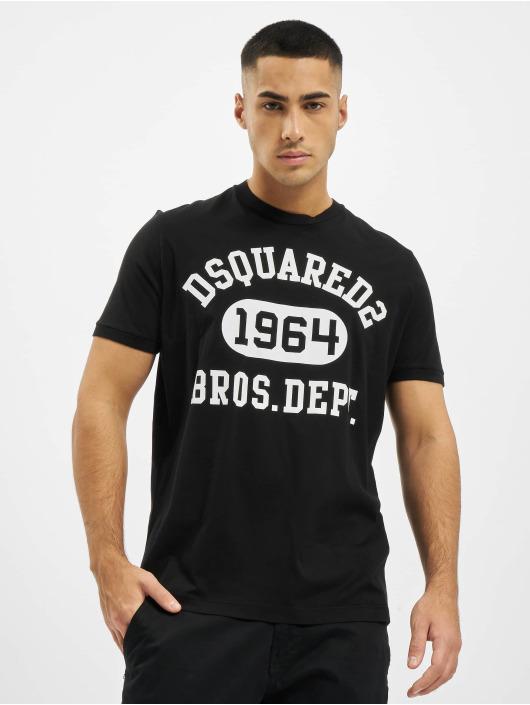 Dsquared2 T-skjorter 1964 svart