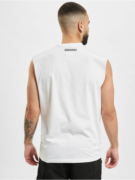 Dsquared2 Tank Tops Icon weiß