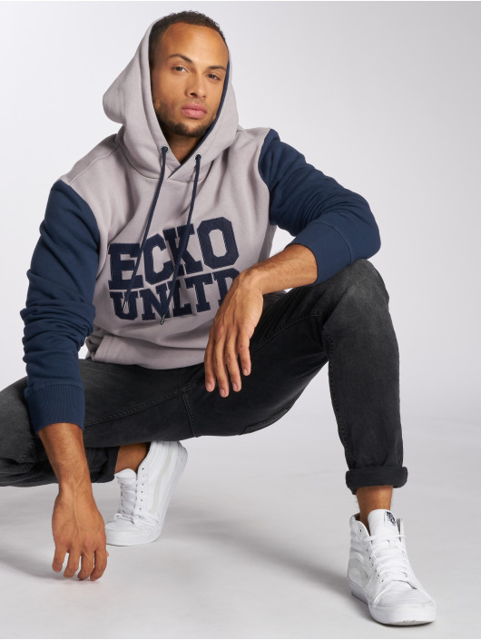 Ecko Unltd. Hoodie Central Valley gray