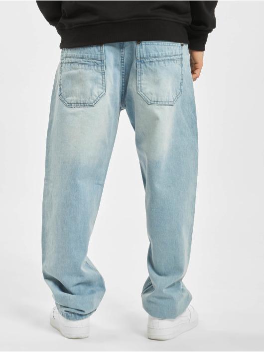 Ecko Unltd. Loose Fit Jeans Wide Leg Fit niebieski