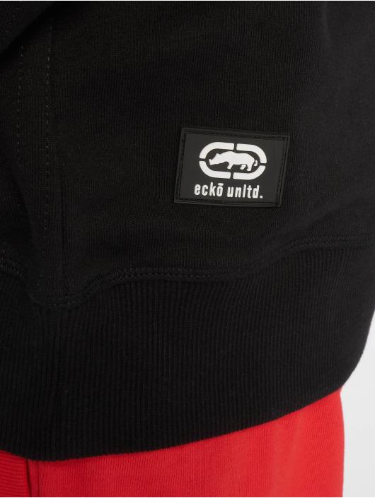 Ecko Unltd. Pullover Hidden Hills Oversized schwarz