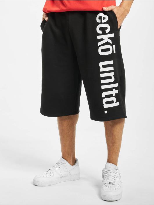Ecko Unltd. Shorts 2 Face schwarz
