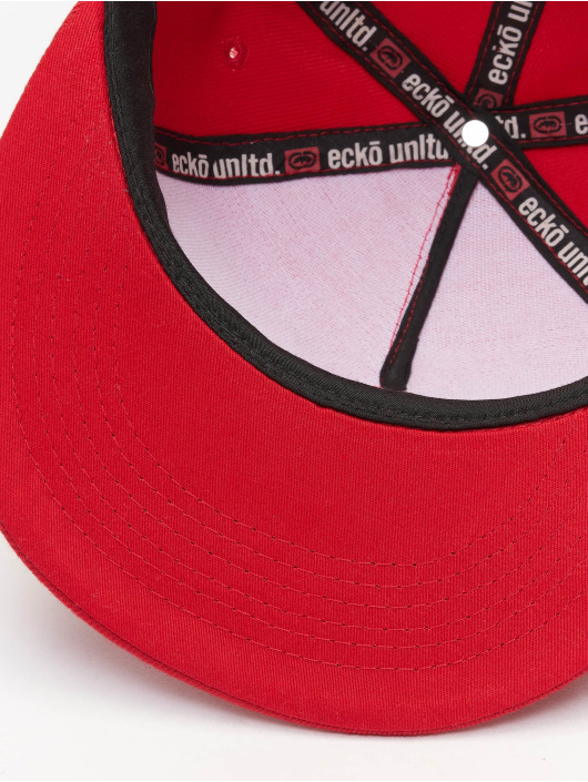 Ecko Unltd. Snapback Cap Base red