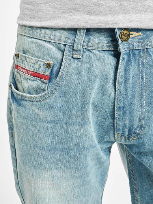 Ecko Unltd. Straight Fit Jeans Bour Bonstreet blau